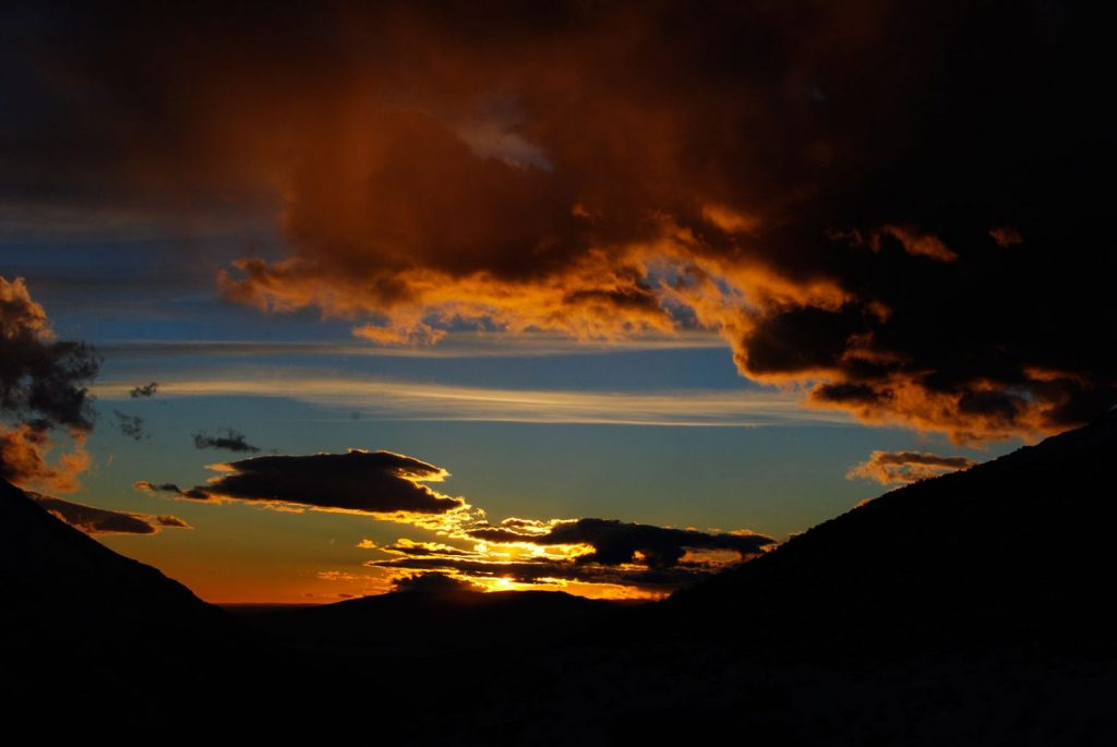 Alba durante il Trekking Parco Nazionale Torres del Paine