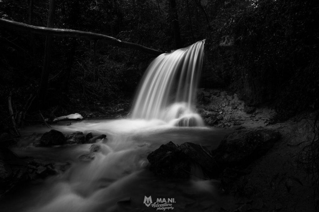 Una della tante balza minori alle cascate del Bucamante