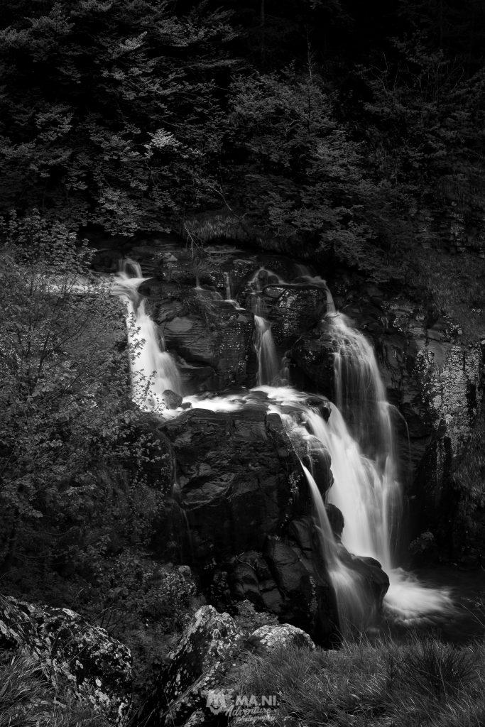 La Cascadora, l'ultima delle 5 cascate del percorso