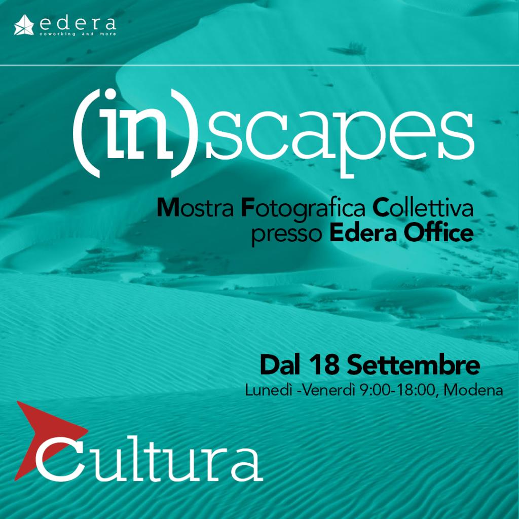 (in)scapes, mostra fotografica modena presso Edera coworking and more
