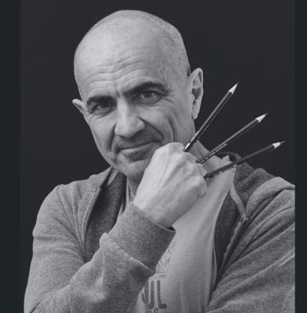 Alberto Graia, L'uomo di Grafite